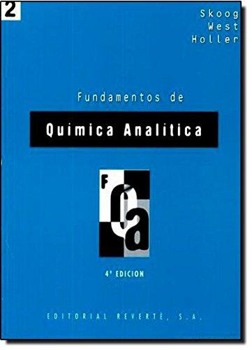 Fundamentos de química analítica. 4a. ed. Vol. II