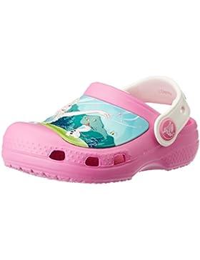 crocs Mädchen Cc Frozenfever Clogk Clogs