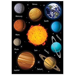 Ashley Productions ASH10073 Solar System Science Die-Cut Magnets, Multi