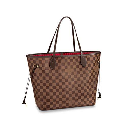 5e1fffdae4c45 HPASS Neverfull Style Designer Woman Organizer Handbag Damier Tote Shoulder  Fashion Bag Medium Size