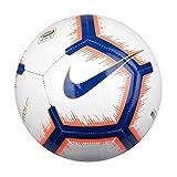 Nike Serie 'Pitch (2018/2019) Pallone da Calcio Unisex Adulto, White/Bright Mango/Royal Blue/Royal Blue, 5