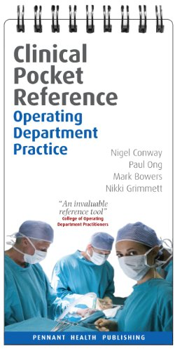 Operating Department Practice (Clinical Pocket Reference)