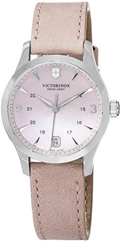 VICTORINOX Damen-Armbanduhr 30MM Armband Leder GEHÄUSE Edelstahl Quarz 241663 (Watch Victorinox Womens)