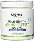 APOrtha Multi Essential Amino Pattern   8 verschiedene essentielle Aminosäuren   362g Pulver   vegan
