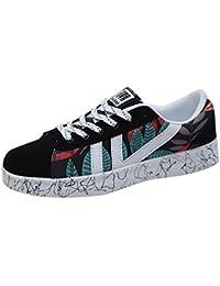 Zapatillas de Deportivos de Running para Hombre Casual Lona Párrafo Basico Fondo Plano Outdoor Calzado Asfalto
