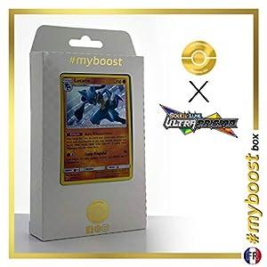 Lucario 67/156 Holo - #myboost X Soleil & Lune 5 Ultra-Prisme - Box de 10 Cartas Pokémon Francés