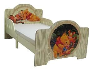 JnH Kinderbett mit Motiv Winnie Puuh und seine Freunde