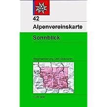 Sonnblick: Wegmarkierung und Skitouren - Topographische Karte 1:25.000 (Alpenvereinskarten)