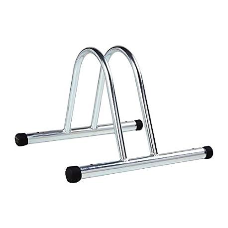 4BIKE AM005 Soporte Bicicleta para Suelo Individual Modular galvanizado 36 x 37 x 27 cm