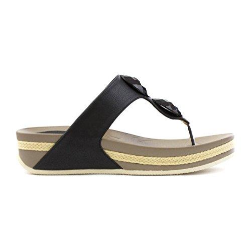 Heavenly Feet , Sandales pour femme Noir