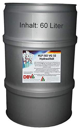 DBV-BIO-Hydrauliköl HLP ISO VG 32-68 (biologisch abbaubar!) 60-Liter-Fass -