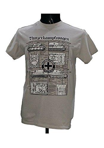 The Wooden Model Company Ltd -  T-shirt - Uomo grigio Grigio ghiaccio