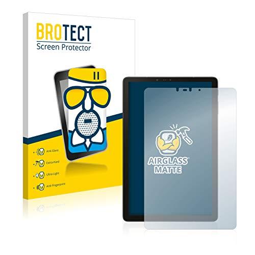 BROTECT Entspiegelungs-Panzerglasfolie kompatibel mit Samsung Galaxy Tab S4 10.5 - Anti-Reflex Panzerglas Schutz-Folie Matt