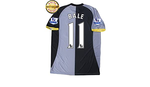0848ecf6f GARETH BALE 11 EPL NEW 12-13 TOTTENHAM HOTSPUR 3rd FOOTBALL SHIRT SHIRT  SOCCER JERSEY (UK SMALL)  Amazon.co.uk  Sports   Outdoors