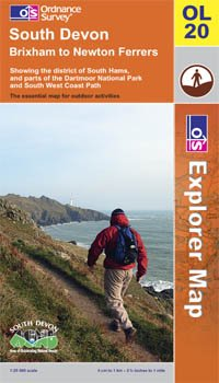 South Devon, Brixham to Newton Ferrers OS Explorer Map OL20