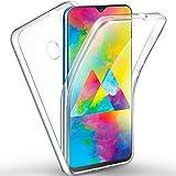 AROYI Cover Samsung M20, Samsung Galaxy M20 Custodia Transparent Silicone TPU e PC 360 Full...