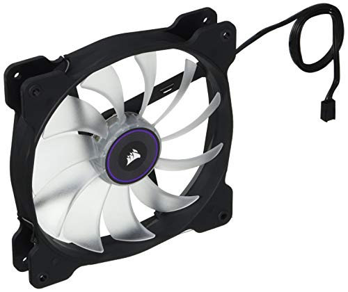 Corsair AF140 LED Quiet Edition High Airflow LED PC-Gehäuselüfter (140mm, Single Pack) lila (Lila Pack Und Spielen)