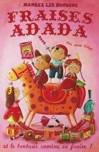 Carte Amandine Piu - Fraises Adada