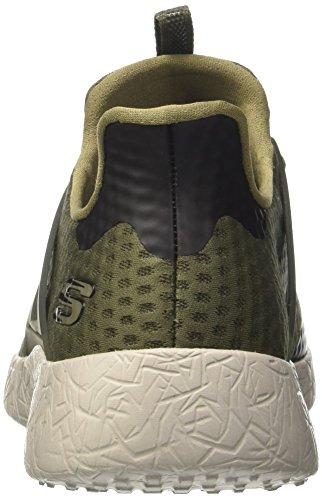 Skechers Herren Burst-Shinz Sneakers Grün (Olv)