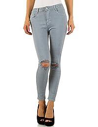 Destroyed Skinny Jeans Für Damen bei Ital-Design