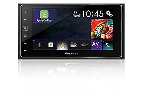 Pioneer SPH-DA120 High Quality 2 Din Autoradio mit Touchscreen 15,8 cm (6,2 Zoll) für Android & iPhone   FLAC, Bluetooth, USB, Freisprecheinrichtung, AUX, Apple Carplay, RDS, Siri Eyes Free,