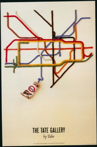 london-underground-the-tate-gallery-by-tube-1987-lu126-satin-paper-a4-size