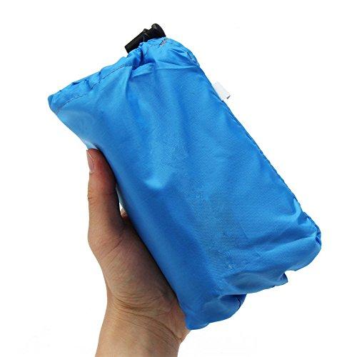 Preisvergleich Produktbild LaDicha Auto 420D Oxford Ultralight Sonnenschirm Zelt Tarp Regen Fliege Markise Outdoor Camping Picknick Matte - L - Blau