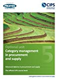 OPTION: Category Management in Procurement and Supply