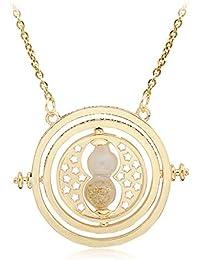 d854652d69b8 ysister Collar de Reloj de Arena Tema de Tiempo de Harry Potter niños  giratorios Regalo Creativo
