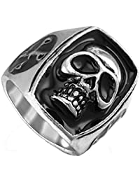 JD's Big Box Skull Ring for Men and Women (Click on JD India Gems and Rings to Buy All Our Products)