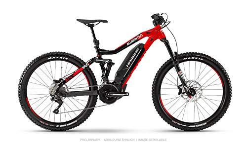 Haibike XDURO AllMtn 2.0 Yamaha 2019 - Bicicleta eléctrica (44 cm), Color Negro, Rojo y Blanco