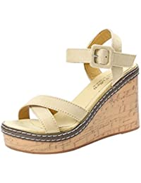 62aace8bf Amazon.co.uk  Wedge - Sandals   Women s Shoes  Shoes   Bags