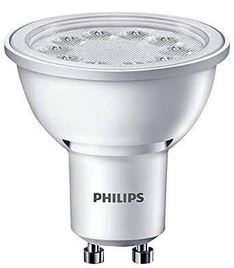 philips 48598900 a led leuchtmittel plastik 5 w gu10 wei beleuchtung. Black Bedroom Furniture Sets. Home Design Ideas