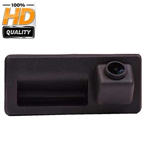 HD Rückfahrkamera (1270 x 720p) integriert im Kofferraumgriff Rückfahrkamera für Audi A3 8V, 2016+, A4 B9, A5, Q5, A6, Q7, A6 (C7), A7 (C7), RS3 S3, A8 Allroad mit MIB (MMI) Radio