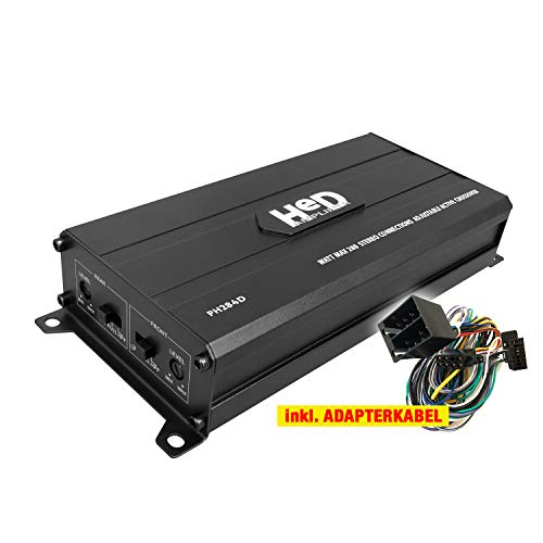 PHONOCAR PH284D Auto/KFZ Kompakt Plug & Play Upgrade Verstärker/Endstufe kompatibel für Mazda -