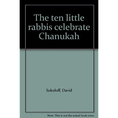 Title: The ten little rabbis celebrate Chanukah