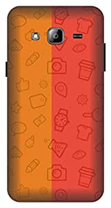 A marc inc. Back Cover for Samsung Galaxy J3