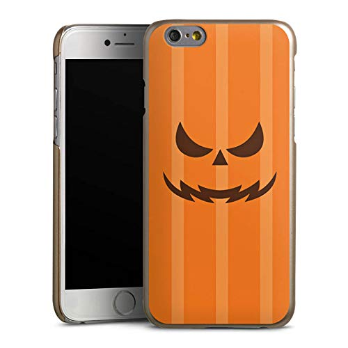 DeinDesign Hülle kompatibel mit Apple iPhone 6 Handyhülle Case Gesicht Halloween Gruselig