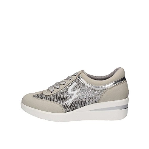 GATTINONI Zapatillas Para Mujer Plateado Plateado Plateado Size: 41 6UxCQ
