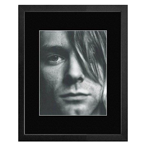 Stick It On Your Wall Nirvana-Kurt Cobain gerahmtes Mini Poster 1991-33x 28cm