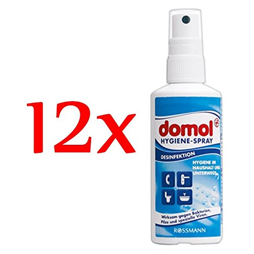 domol Hygiene-Spray, 12er Pack (12 x 100 ml)