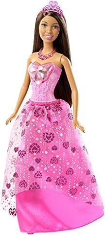 Barbie - DHM60 - Princesse Multicolore Bijoux