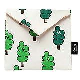 TIFIY Damen Geldbörse Brieftasche Tasche Ändern Beutel Schlüsselhalter Mädchen Drucken Blume Geldbeutel(D)