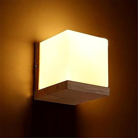 Larsure Vintage Industrial Style Wandleuchte Wandleuchte Lampe Eiche Wandleuchte led