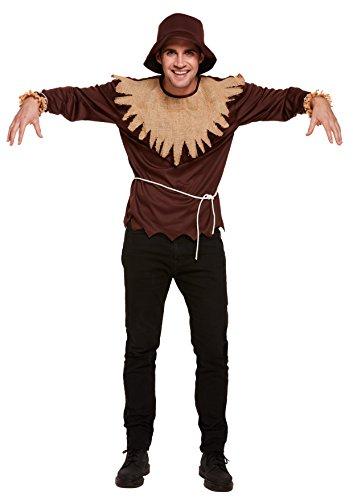 Herren-Kostüm Vogelscheuche (Einheitsgröße)