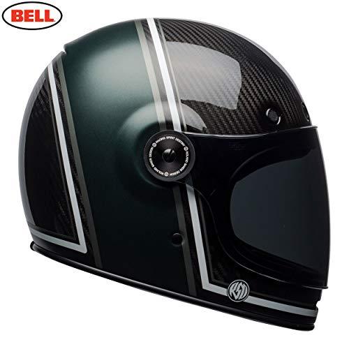 BELL HELMET BULLITT CARBON RSD BLACK/GREEN M (Helm Carbon Bell)