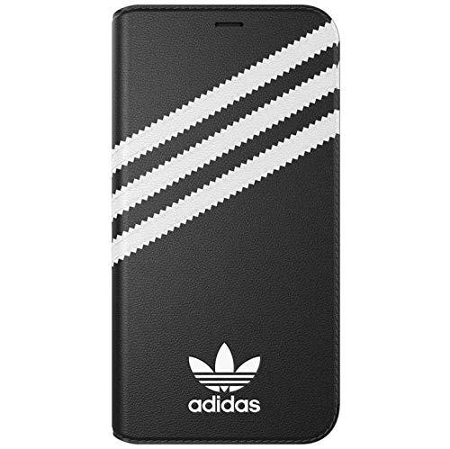 Adidas Schwarz Folien (Adidas Booklet Schutzhülle für Handy 14,7 cm (5,8 Zoll) Folio Schwarz, Weiß - Hüllen für Mobiltelefone (Folie, Apple, iPhone X/XS, 14,7 cm (5,8 Zoll), Schwarz, Weiß))