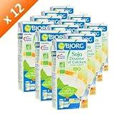 BJORG Soja Douceur Calcium Bio 1l (x12)