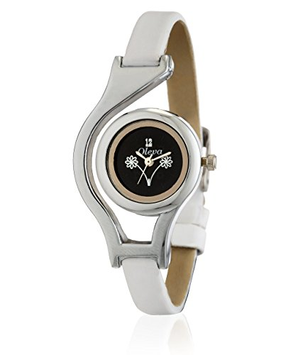 Oleva Analog Black Dial Women's Watch - OLWWW 10 BBB