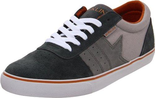 Dekline Archer 602183, Unisex - Erwachsene Sportschuhe - Skateboarding, Grau (CHARCOAL/GREY/ORANGE), EU 45 (US 11.5) (Herren Dekline Schuhe)